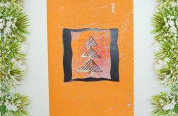 Kartka  świąteczna minimalizm 56