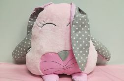 Poduszka-przytulanka królik