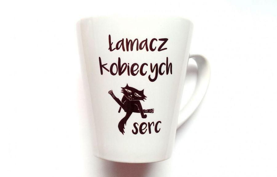 KUBEK LATTE ŁAMACZ SERC