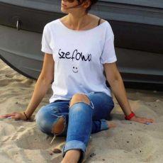 """t-shirt luźny """"SZEFOWA"""""""