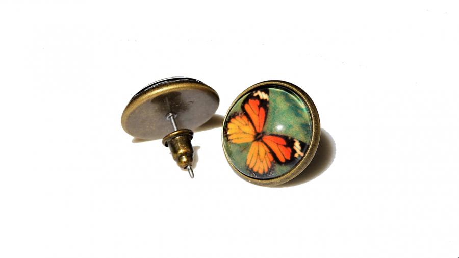 Kolczyki Motylki 006 – pomysł na prezent