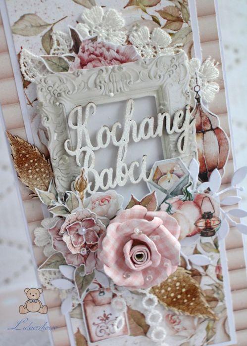 """Kartka dla Babci, Dzień Babci """"Diary"""" GOTOWA"""