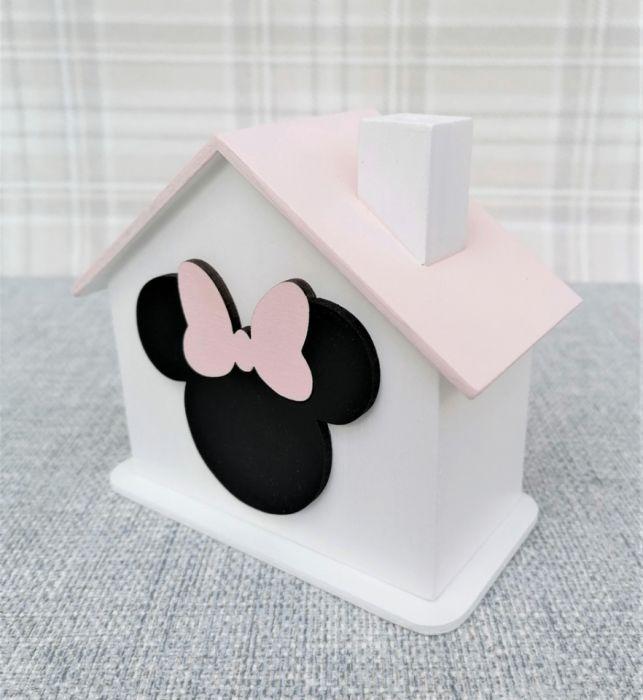 Skarbonka- Myszka Minnie- Mm09 - skarbonka dla dziewczynki