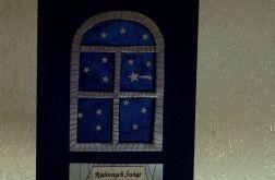 Pierwsza gwiazdka...Kartka świąteczna