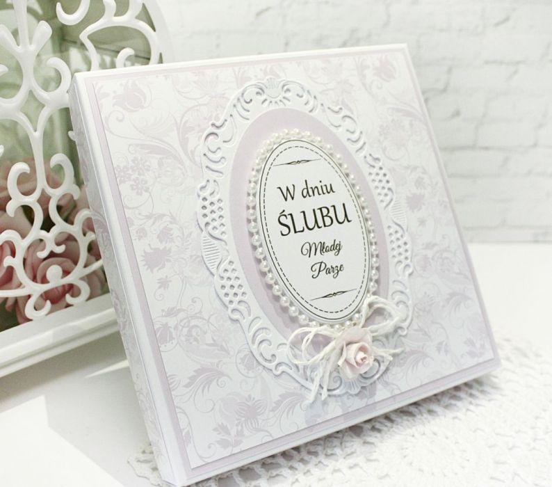 Duet ślubny - kartka w pudełku 01 - null