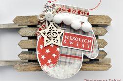 Rękawiczka skandynawska na Święta