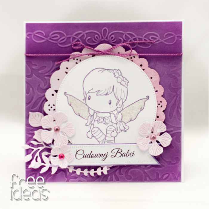Cudownej Babci - aniołek KDB1905