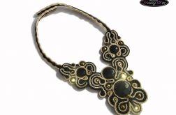 Royal necklace soutache