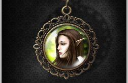 Medalion Elf - romantyczny