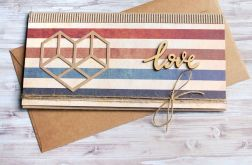 KARTKA KOPERTÓWKA :: VINTAGE LOVE