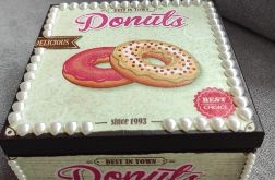 Pudełko ozdobne Donuts