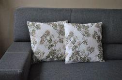 Poszewka dekoracyjna - jesienne liście jarzębiny