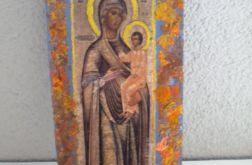 Matka Boża z dzieciątkiem- ikona