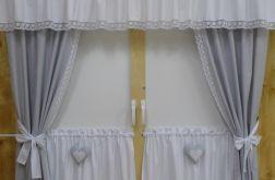 Kpl firan *szaro-białych* - wzór 10A