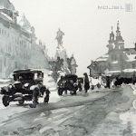 Plac Matejki 1933 - obrazek na ścianę