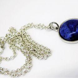 BLUE - kamień naturalny - naszyjnik