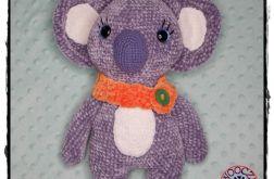 Pluszowy Miś Koala wykonany na szydełku