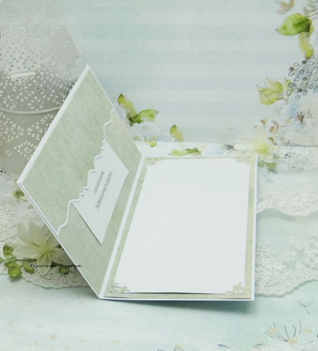 Kartka ślubna z młodą parą vol.2 w pudełku - kartka na ślub