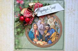 Kartka świąteczna  - Boża Rodzina 7