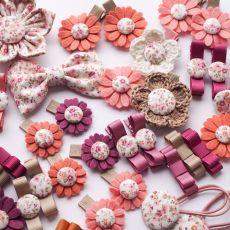Spineczki do włosów kwiatki bb FLORENCE