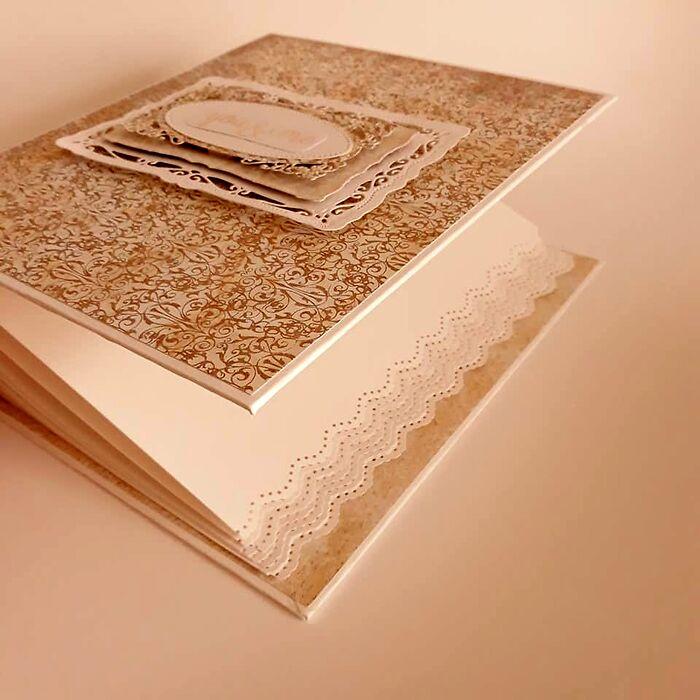 Komplet kartka ślubna w pudełeczku z albumem -