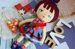 Lalka Ola ( 42 cm ) zestaw ubranek+ poduszka