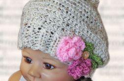 czapeczka /beret  Basia