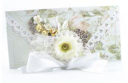 Ślubna kopertówka - zam. Pani Małgorzata