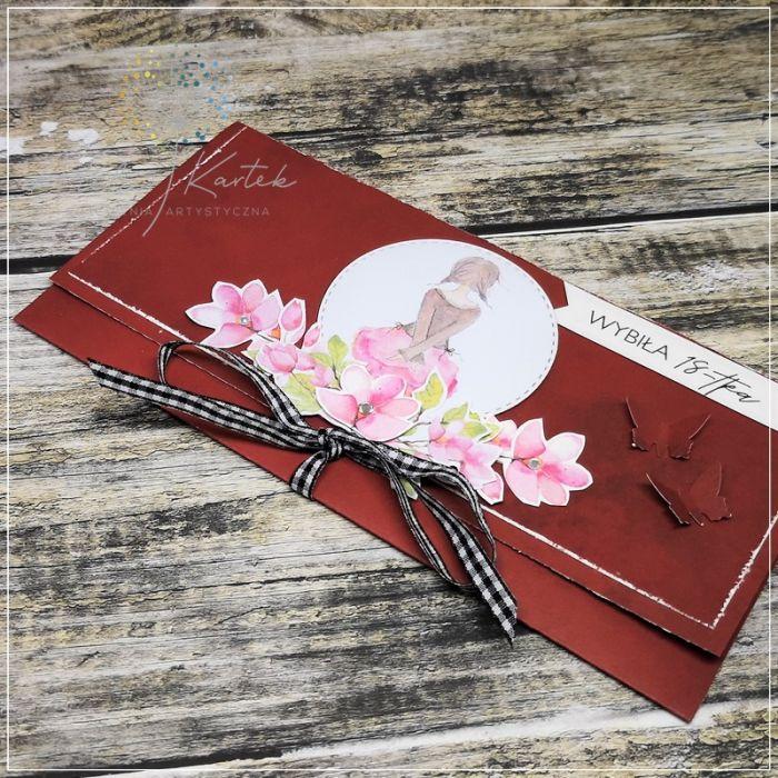 Kartka kopertówka-wybiła osiemnastka