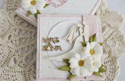 Ślubna z margerytkami