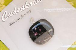 Kwieciste - ręcznie tworzony szklany kaboszon