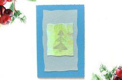 Kartka  świąteczna minimalizm 85
