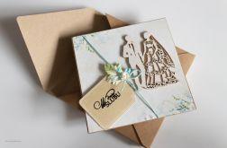 Kartka w dniu ślubu