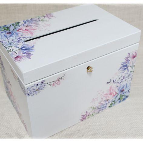 Skrzynka na koperty Ślub, Piękna, na kluczyk
