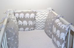 Modułowy ochraniacz do łóżeczka 6 szt N43