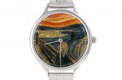 """Zegarek Art z bransoletą """"Krzyk"""""""