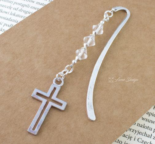 Mała zakładka do książki - Krzyżyk
