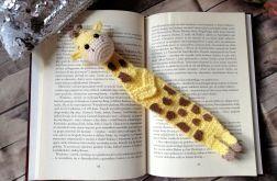 Szydełkowa Zakładka do Książek - Żyrafa