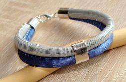 Niebieski i srebrny