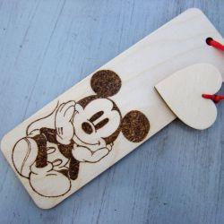 zakładka z myszą Miki