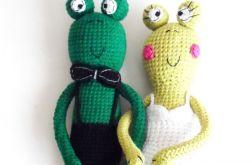 MŁODA PARA żabek zielonych