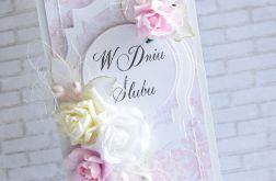 W różach - komplet ślubny