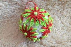 Quillingowa ozdoba bożonarodzeniowa