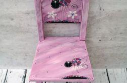 krzesełko z oparciem kot