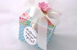 Pudełko na ślub Pastelowe Blue