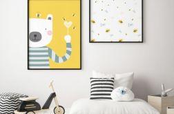 Miś, pszczoły i ...... miód, plakaty A3