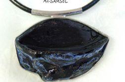 Wisior ceramiczny - szafir II