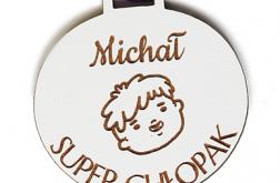 Prezent na DZIEŃ CHŁOPAKA medal z imieniem