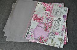 4 Podkładki pod talerze - Róże i emblematy