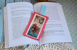 Zakładka do książki - Nasturcje / tulipany